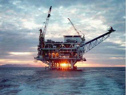 Offshore oil drilling